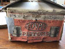 Hillman/Humber 16HP Std Size Pistons 2276cc 1933/36