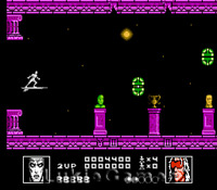 Silver Surfer - Classic Fun NES Nintendo Game