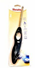 Metaltex Refillable Gas Lighter With Safety Lock Hand Tool Kitchen Home New