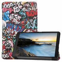 Cover für Samsung Galaxy Tab A 8.0 SM-T290 SM-T295 Hülle Case Etui Tasche Stand