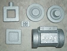 LIVE STEAM ENGINE CYLINDER SET HORIZONTAL MOUNT CASTINGS CAST IRON