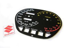 1982-83 gs1100 gs1100sz katana speedometer tachometer GAUGE FACE PLATE kilometer