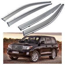 Car Window Visor Vent Shade Deflector Sun/Rain for Toyota Land Cruise 2008-2020
