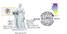 5274 Illinois Statehood Fleetwood, FDC