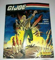 GI Joe 1987 ARAH Vintage PANINI Album LOT Action Force Figure Magazine Book