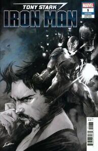 Tony Stark Iron Man #1 Party Sketch Variant Cover STOCK PHOTO Marvel 2018 00131