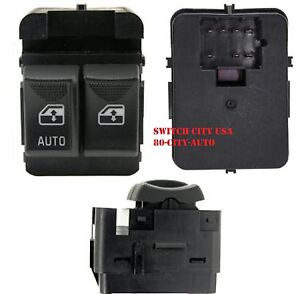 OEM Chevrolet Express 1500 2500 3500 Master Driver Power Window Switch 25725880