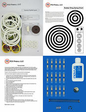 1975 Chicago Coin Olympics Pinball Tune-up Kit - Includes Rubber Ring Kit