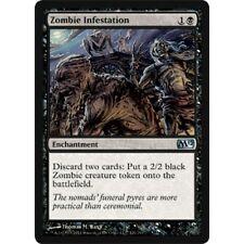 MTG core set M12 1x 1 x Zombie Infestation x1 MINT PACK FRESH UNPLAYED 2012