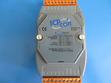 2 ICP CON M-7017 8 Ch. Voltage/Current Analog Input DAQ Modules  - Modbus/RS-485