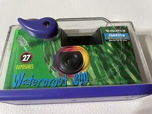 Fujifilm Quick Snap Waterproof 27exp 35mm Camera 800, Vintage, 1997, Never Used