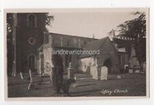 Offley Church Vintage RP Postcard Hertfordshire 810b