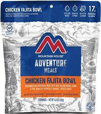Mountain House Chicken Fajita Bowl Freeze Dried Food Set of 6 Pouches -