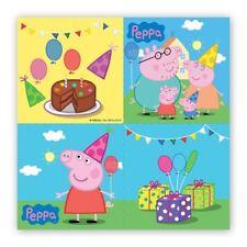 Générique 20 serviettes de Papier Peppa Pig