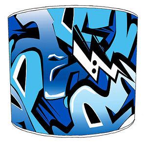 Lampshades Ideal To Match Modern Urban Street Art Graffiti Wall Decals & Duvets