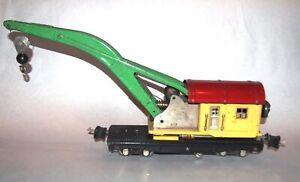Lionel Prewar O Gauge 810 Late Crane or Derrick Car! PA