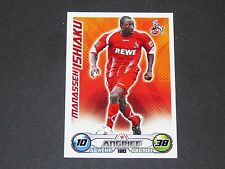 ISHAKU 1. FC KÖLN TOPPS MATCH ATTAX PANINI FOOTBALL BUNDESLIGA 2009-2010