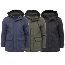 Tokyo Laundry Mens Wool Mix Melton Jacket Coat Parka Fleece Lined