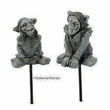 Troll Picks – Set of 2 Micro Mini Miniature Fairy Garden GO 17516