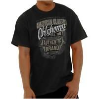 Oklahoma American Souvenir Country OK USA Short Sleeve T-Shirt Tees Tshirts