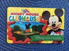 Mickey Clubhouse Disney gift card collectible only-  no $ value or points on it