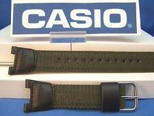 Casio Watch Band SGW-100 B-3.Compass Thermometer Black/Green