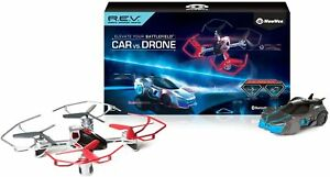 New Sealed WowWee REV Robotic Enhanced Vehicles Air Car vs Drone Battle Pack