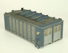 Vollmer 7605 Lokschuppen 47605  ✅  Spur N. Das Modell ist farblich gesupert.