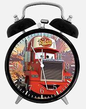 "Disney Cars Mack Alarm Desk Clock 3.75"" Room Office Decor W261 Nice For Gift"