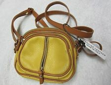 VALENTINA Genuine Italian Leather Cross body Purse Hand Bag ~ MADE IN ITALY ~