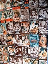 mehr als 130 Programmhefte - Illustrierte Filmbühne - Filmprogramme Sammlung