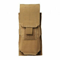 Blackhawk Single Magazine Ammo Pouch (holds 2) - Molle, Coyote Tan