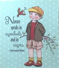Mary Engelbreit Handmade Magnet-Nature Speaks In Symbols And In Signs