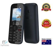 Brand New Alcatel Onetouch 2036 Black 3G Mobile Phone FM Radio locked to vodafon