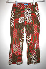 GIrls TCP Children's Place Patched Printed Hippie Pants Adjustable Waist 6X/7