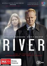 River DVD NEW Region 4 Stellan Skarsgard Nicola Walker