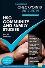 Cambridge Checkpoints HSC Community and Family Studies 2017-19 by Kate Rayner