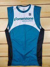 Men's Desoto Cycling Jersey/Tank Triathlon with back pockets - Size XXL