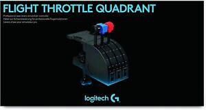 Logitech G Saitek pro Flight Levers Of Driveshaft Simulation Professional