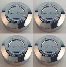Set 4 Vision Wheels 141 142 Legend Series Chrome Wheel Center Caps 141-T-V VIS28