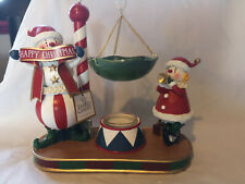Yankee candle christmas circus act hanging wax tart burner. RARE FIND