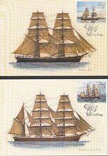 Aland 2016 FDC Maxi Card nr 96 - 97 - Sailing Ship - Per Brahe and Altai