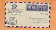 WORLD WAR II MILITARY MAIL APO 942 AUG 1944 CENSORED AIR FORCE