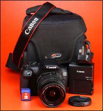 Canon EOS 1300D DSLR CÁMARA + EF-S 18-55mm Zoom Lente Kit-IS II sólo 219 disparos