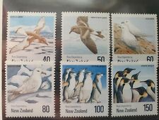 New Zealand  1990 Antarctic Birds set of 6v, MNH