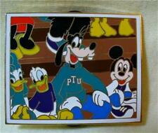 Wdw Disney Ptu Yearbook Donald Duck Goofy Mickey Mouse Pep Rally Le Pin