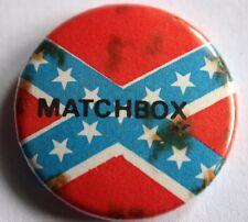 MATCHBOX Old VTG 70/80`s Button Pin Badge Rockabilly (not shirt lp cd patch)