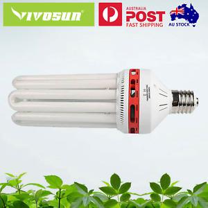 VIVOSUN 125W 2700K Warm White CFL Compact Fluorescent Lamp Globes Grow Light AU