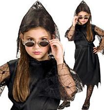 Per 5 - 7 anni per bambini VAMPIRESS Costume Halloween Completo