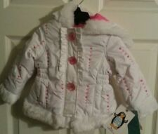 KC Collection NWT size 2T jacket with hood stay warm stay active (value $34.99)